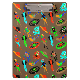 RETRO SCIENCE FICTION by Jetpackcorps Clipboard