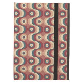 Retro Sixties wallpaper pattern matrix iPad Air Covers