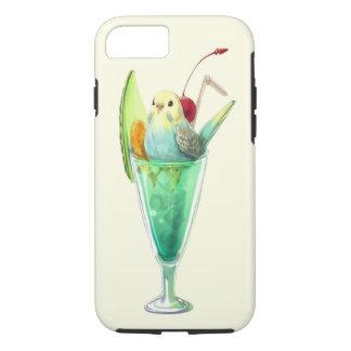RETRO SODA FOUNTAIN ICE CREAM DESSERT BIRDS iPhone 8/7 CASE