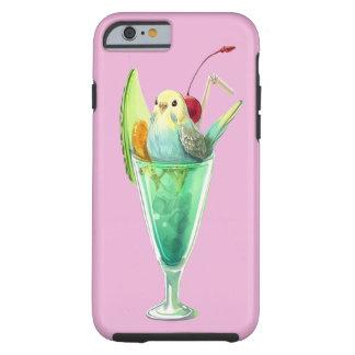 RETRO SODA FOUNTAIN ICE CREAM DESSERT BIRDS TOUGH iPhone 6 CASE