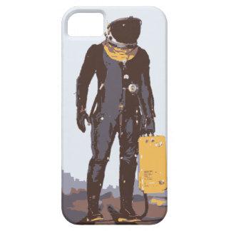 Retro Spaceman iPhone 5 Case