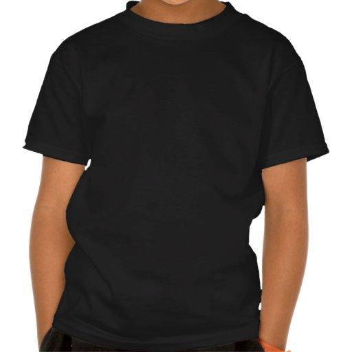 Retro Splat Rocket Black Orange Shirt
