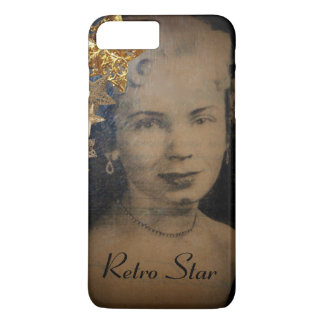 'Retro Star' iPhone 7 Plus, Barely There iPhone 8 Plus/7 Plus Case