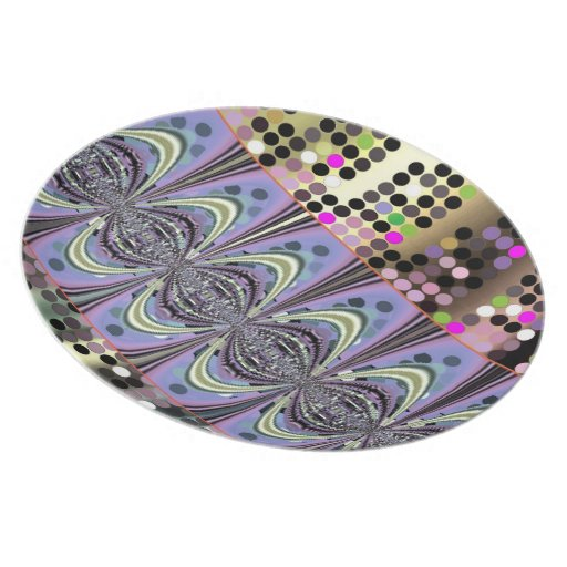 Retro Style Design Plates