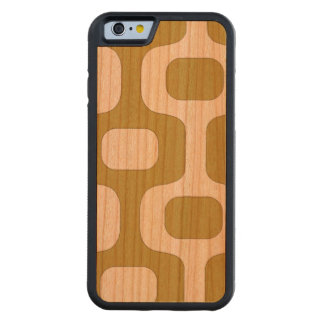 retro style look carved cherry iPhone 6 bumper case