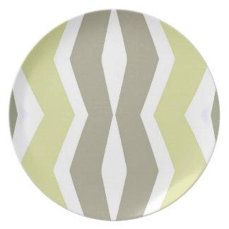 Retro Style Plate