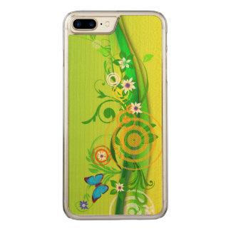 Retro Summer Carved iPhone 8 Plus/7 Plus Case
