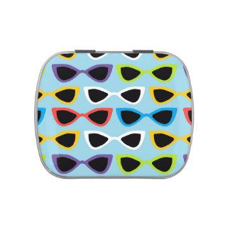 Retro sunglasses candy tin
