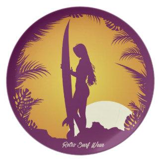 Retro Surf Wear Plates