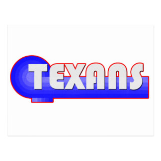 Retro Texans Postcard