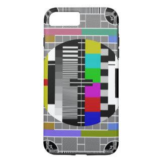 Retro TV Text Pattern iPhone 8 Plus/7 Plus Case