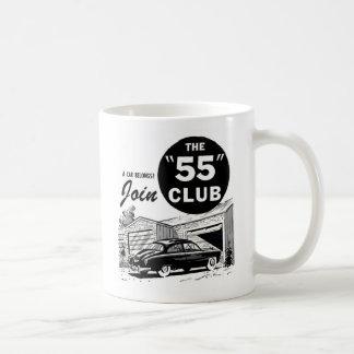 Retro Vintage Auto '55 Club Mug