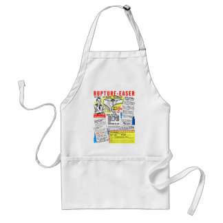 Retro Vintage Kitsch Comic Book Ad Rupture-Easer Standard Apron