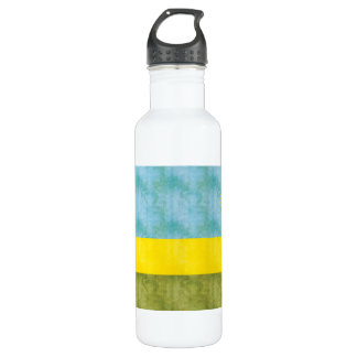Retro Vintage Rwanda Flag 710 Ml Water Bottle