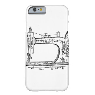 Retro Vintage Sewing Machine Barely There iPhone 6 Case