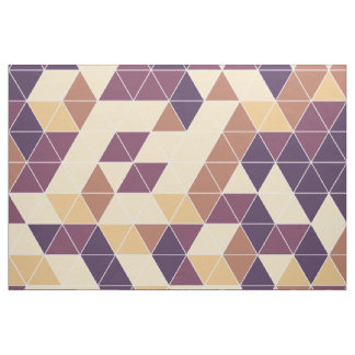 Retro vintage triangle pattern fabric