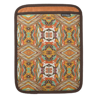 Retro Vintage Tribal Art. Abstract Nativ American Sleeve For iPads