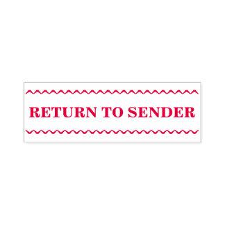 """""""RETURN TO SENDER"""" Rubber Stamp"""