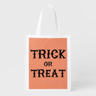 Reusable Halloween Tote Bag (Trick or Treat)
