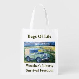 "Reusable Shopping Bag With ""FREYA"" Design"