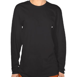 Rev58-LS Pink on Black T Shirts