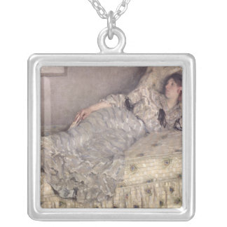Reverie, 1903 silver plated necklace