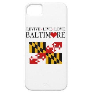 Revive Live Love Baltimore iPhone 5 Covers