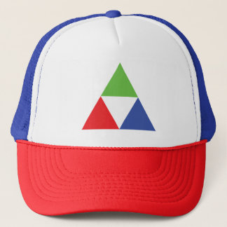 RGB Triangle Designer Web Design Love Trucker Hat