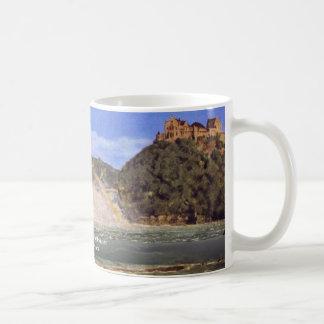 Rhine Falls At Schaffhausen By Thoma Hans Coffee Mug