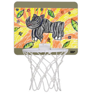 Rhino  art mini basketball hoop
