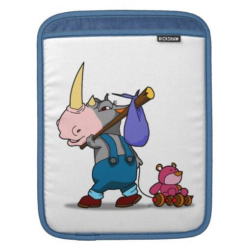 Rhino Bear iPad Sleeve