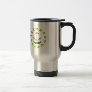 Rhode Island Flag Travel Mug