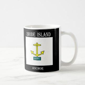 Rhode Island Hope Anchor Coffee Mug
