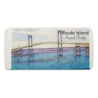 Rhode Island Newport bridge eraser