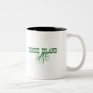 Rhode Island Roots Two-Tone Coffee Mug