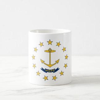 Rhode Island State Flag Coffee Cup Mug