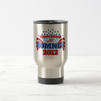 Rhode Island with Romney 2012 Travel Mug