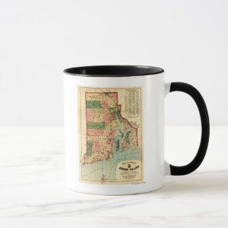 Rhode IslandPanoramic MapRhode Island Mug
