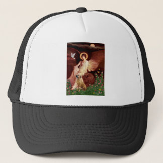 Rhodeisn Ridgebak 2 - Seated Angel Trucker Hat