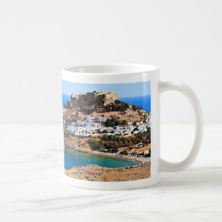 Rhodes island (Greece) mug