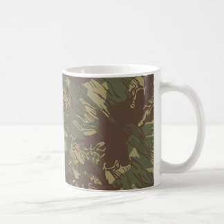 Rhodesian Bush Camo Basic White Mug