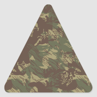 Rhodesian Bush Camo Triangle Sticker