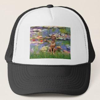 Rhodesian Ridgeback 1 - Lilies 2 Trucker Hat