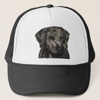 Rhodesian Ridgeback Dog Art - zulu Trucker Hat