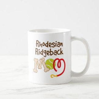 Rhodesian Ridgeback Dog Breed Mom Gift Coffee Mug