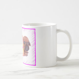 Rhodesian Ridgeback HAPPY BIRTHDAY coffee mug