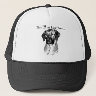 Rhodesian Ridgeback Happy Face Trucker Hat