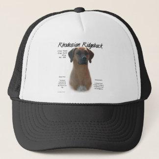 Rhodesian Ridgeback History Design Trucker Hat