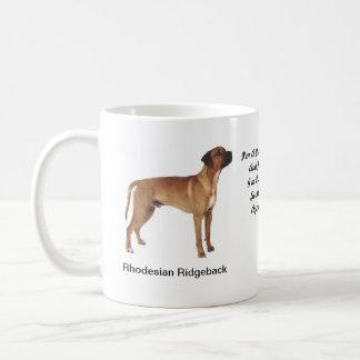 Rhodesian Ridgeback Mug - With images and a motif