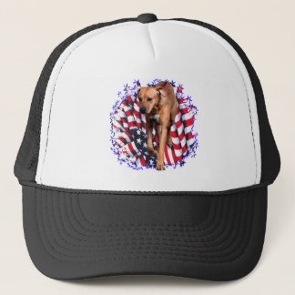 Rhodesian Ridgeback Patriot Trucker Hat